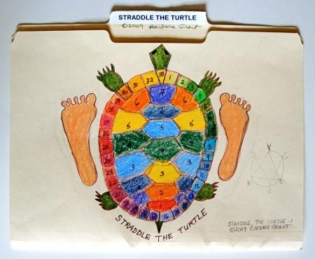 Straddle the Turtle folder